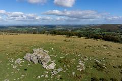Frenchbeer Rock, Dartmoor (Marklucylockett) Tags: 2018 dartmoor dartmoornationalpark devon kap kaphq16 kestor kiteaerialphotography marklucylockett october other sonya6000