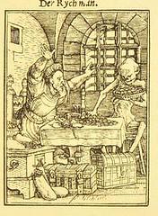 This image is taken from Page 63 of Der Todtentanz von H. Holbein, nach dem Exemplare der ersten Ausgabe im Kgl. Kupferstich-Cabinet zu Berlin in Lichtdruck nachgebildet (Medical Heritage Library, Inc.) Tags: dance death rcplondon ukmhl medicalheritagelibrary europeanlibraries date1879 idb22651263