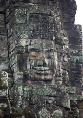 Giant buddha face inside Bayon temple, Siem Reap Province, Angkor, Cambodia (Eric Lafforgue) Tags: ancientcivilisation angkor angkorwat apsara architecture artscultureandentertainment asia bayon bayontemple buddha buddhism cambodia colourimage cultures day famousplace giant history humanbodypart humanface indochina khmer monument nopeople oldruin outdoors photography placeofworship prasatbayon religion spirituality statue stonematerial temple thepast tourism traditionallycambodian travel traveldestinations unescoworldheritagesite vertical wat yasodharapura camboimg9365 siemreapprovince