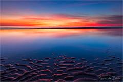 Burning sky! (karindebruin) Tags: annemarie colors kleuren maasvlakte nederland sigrid thenetherlands zonsondergang zuidholland beach clouds sand strand sunset water wolken zand
