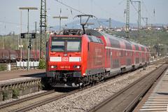DB 146 111 Weil am Rhein (daveymills37886) Tags: db 146 111 weil am rhein baureihe bombardier traxx