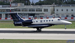 G-PERG LMML 10-10-2018 (1) (Burmarrad (Mark) Camenzuli Thank you for the 13.7) Tags: airline air charter scotland aircraft embraer 505 phenom 300 registration gperg cn 50500266