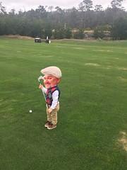 Littlest Golfer (rudyg39) Tags: family jeremy juxtapose
