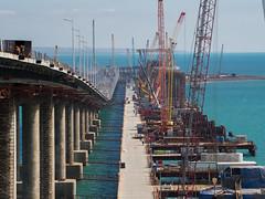M1 20180404 38 (romananton) Tags: крымскиймост керченскиймост kerchstraitbridge crimeanbridge bridge мост стройка строительство крым construction constructing