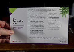 Cannabis Act Card (scott3eh) Tags: cannabis act card mail mailer weed marijuana dope bud pot grass