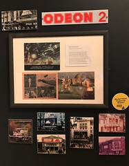 Excerps from an original Star Wars cinema programme (remember those?) on display at #MayTheToysBeWithYou, Torquay Museum 19.08.17 (Trevor Bruford) Tags: star wars toy figure exhibition torquay museum maythetoysbewithyou