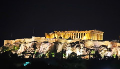 Acropolis at night (Van Click) Tags: architecture famousplace traveldestinations buildingexterior tourism townscape sightseeing oldtown historical unesco acropolis parthenon athens ancient greece art history attica democracy greek antiquity hellenistic period philosophy masterpiece athena temple classical monument erichtheion herodes stairs arena mithology view holidays white hellas theater grecia stadium antique sky statue apollo steps marble dyonisos pillar vacations columns propylaen rocks angle cariathides power stone agora