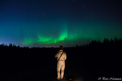 Aurora Borealis (petrinieminen1) Tags: auroraborealis northerlights revontulet oulu finland skycolors