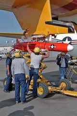 BQM-74E target drone (skyhawkpc) Tags: aviation rdte officialusnavy 1992 570496 dc130a hercules nasptmugu pmtc dvic navalairwarfarecenterweaponsdivision vancevasquez navy usn naval aircraft airplane usnavy ca bq35082 bqm74e nawcwd pacificmissiletestcenter