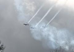 Team Raven Three - Ship Formation (3 of 6) (goweravig) Tags: vans rv8 aircraft swansea wales uk swanseaairport teamraven gvfds gcibm gegrv