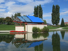 Some of the world is a stage (jamica1) Tags: stage park lagoon downtown kelowna okanagan bc british columbia canada