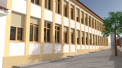 Colegio Vicente Espinel - Exterior 02 (jm00092) Tags: blender 3d ronda vicenteespinel