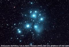 Pleiades (achrntatrps) Tags: atlantiden atlantiaden sevensisters messier45 siebengestirn taube siebenschwestern gluckhenne m45 d5300 suivi nikkor200400f4 pleiads subaru plejaden pléiades nightshot nikon photographe photographer alexandredellolivo dellolivo lachauxdefonds suisse nuit night nacht galaxie galaxy achrntatrps achrnt atrps radon200226 radon etoiles stars sterne estrellas stelle astronomie astronomy nicht noche notte astrophotographie twin1isr2 eosforastro skywatchereq6rpro astrometrydotnet:id=nova3089732 astrometrydotnet:status=solved pleiades