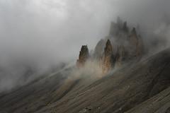 Ryujin (DBPhotographe) Tags: mountain fog mood peak desert alps france izoard casse deserte queyras