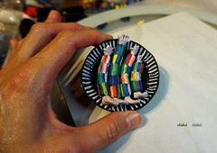 HANDS AND FEET (Fimeli) Tags: perlen beads polyclay polymerclay handmade handwork colorfull