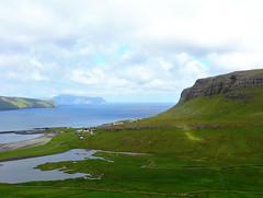 View over Nes-Hvalba (Jaedde & Sis) Tags: føroyar hvalbanes suðuroy village landscape above sweep friendlychallenges fac per perpetualwinner challengeyouwinner