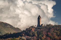 Forth Fog - 01 Nov 2018 - 83-Edit.jpg (ibriphotos) Tags: sunshine autumn blue scotland wallacemonument river forthvalleycollege mist stirling riverforth fog scotlandslandscape weather ochilhills