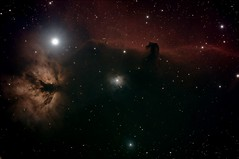 Horse-and-Flame-4x900s (Alun_ H) Tags: horse flame nebula deep sky space orion qhy 168c