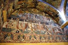 Monasterio de Voroneț (Rumanía, 21-8-2018) (Juanje Orío) Tags: 2018 voronet moldavia rumanía românia europa europe patrimoniodelahumanidad worldheritage monasterio iglesia church interior pintura arte art