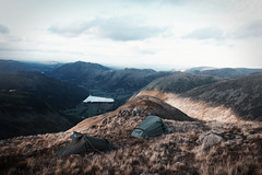 (Bazzerio) Tags: camp wildcamping hike tumblr travel tent grain grainy vintage lakedistrict lake lakes england 35mm fujifilm film analogue adventure x100f