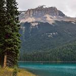 Two People Enjoying a Canoe on Emerald Lake thumbnail