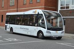 Transdev Rosso Optare Solo 198 YJ62FEU - Bury (dwb transport photos) Tags: transdev rosso optare solo bus 198 yj62feu bury