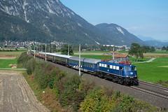 110 428 mit SE 19797, Langkampfen (Jan Roider) Tags: eisenbahn eisenbahnfotografie trainspotting classiccourier br110 110428 langkampfen kufstein tirol sonderzug