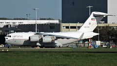 Kuwait C17 (Robbies pictures) Tags: fuji xs1 amsterdam schip hol c17 cargo air force lucht macht vracht
