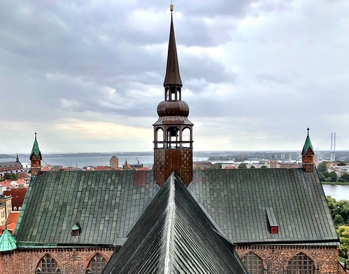 Above the rooftops of Stralsund