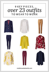 23 Workwear Outfits From 9 Key Pieces Perfect for a Creative Office | Not Dressed As Lamb, over 40 style (Not Dressed As Lamb) Tags: ways wear style outfit outfits ootd workwear office chic creative job interview suit