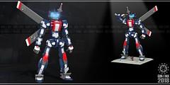 Gun-1 MX 02 (messerneogeo) Tags: messerneogeo gun1 mx lego mech mecha robot