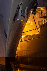 Side By Side (atenpo) Tags: ss keystone state tacs1 crane ship gem tacs2 ready reserve force united states navy naval us maritime administration