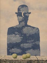 """The Granite Quarry"", Rene Magritte (1964) (Joey Hinton) Tags: sanfrancisco california unitedstates rene magritte exhibit museum modern art google pixel2 andriod smartphone cellphone cameraphone phone"