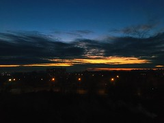 (a.hradaboev) Tags: camera iphone6s filter vsco view landscape evening city road towns light shadow shadows seaside sky sunset sun mogilev belarus
