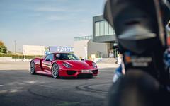 Red (JHGomez Photography) Tags: porsche 918 spyder car supercar hypercar trinity coche supercoche coches madrid