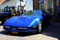 1986 Chevrolet Corvette C4 (Dirk A.) Tags: hzvz92 sidecode5 1986 chevrolet corvette c4