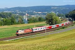 PTE Jubileum 650 (Vonatguru) Tags: pte 470 004 taurus es64u2 650 jubileum sausenstein westbahn öbb österreich austria cityshuttle