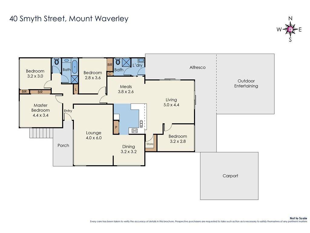 40 Smyth Street floorplan