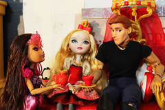 Life in the Dorm4 (Black Rose Bride) Tags: everafterhigh dolls toys briarbeauty applewhite princehal frozen hans disney custom thehollowcrown