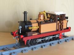 Terrier wip (ScotNick1) Tags: lego lbscr london brighton south coast railway train steam engine a1 terrier lb scr uk united kingdom a1x