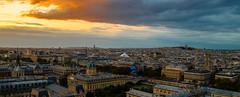 Sunset over Paris (valecomte20) Tags: sunset over paris sacrécoeur notredamedeparis nikon d5500 bluehour skyline cityscape
