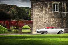 1957 Cadillac Eldorado - Shot 9 (Dejan Marinkovic Photography) Tags: 1957 caddy cadillac eldorado coupe american classic car oldtimer 50s chrome castle merode schloss