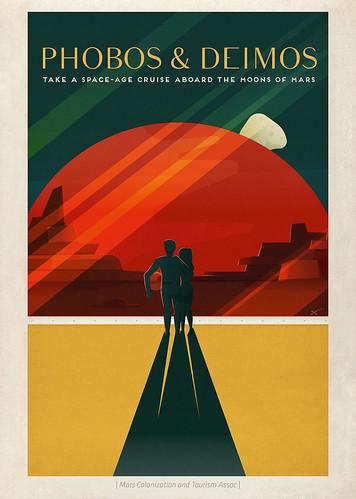 16-Affiche // 50x70 // Phobos & Deimos