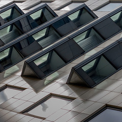 toblerone... (slavekR) Tags: line lines geometry windows building architecture office triangle