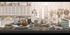 Pumpkin spice and everything nice. (Brandi Monroe) Tags: hive {whatnext} secondlife scarletcreative randommatter collabor88 c88 8f8 kitchen