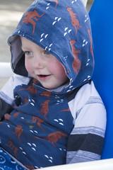 Paul (quinn.anya) Tags: paul toddler kangaroo hoodie smile portrait