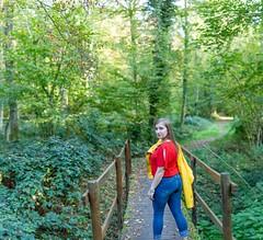 IMG_9482-Panorama (fab spotter) Tags: younggirl portrait forest levitation brenizer extérieur lumièrenaturelle