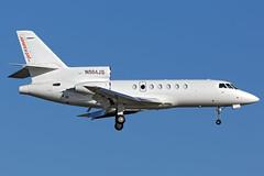 N504JS - Dassault Falcon 50 - myjetsaver - KORL - Oct 2018 (peachair) Tags: nbaa 2018 orlando executive airport biz jet business corporate