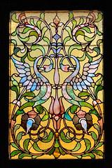 Stained Glass Window (Walt Polley) Tags: hillhouse minnesota stpaul iphone7s
