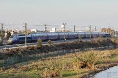 TGV 805 (Escursso) Tags: 805 ave adif alstom barcelona cataluna euroduplex martorelles mollet renfe sncf tgv highspeed railway train tren